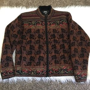 Icelandic Design Fair Isle Winter Jacket